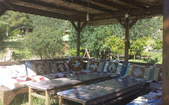 Relaxing in Angel Gardens