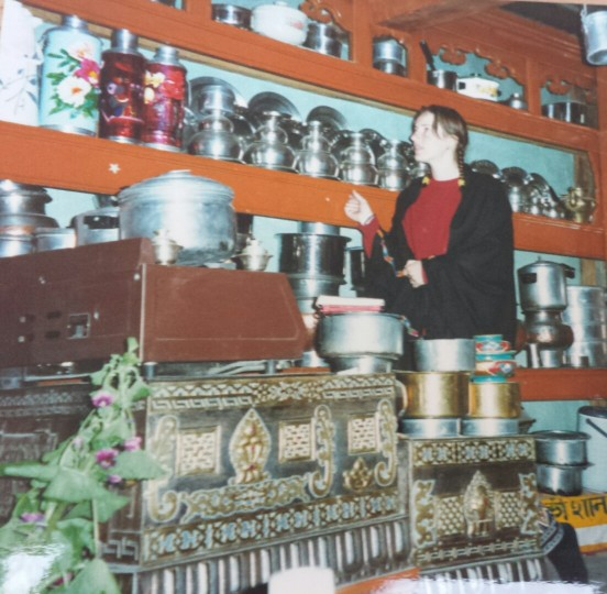 Inside a Ladakhi home with all the cooking pots
