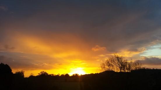 A Welsh sunrise