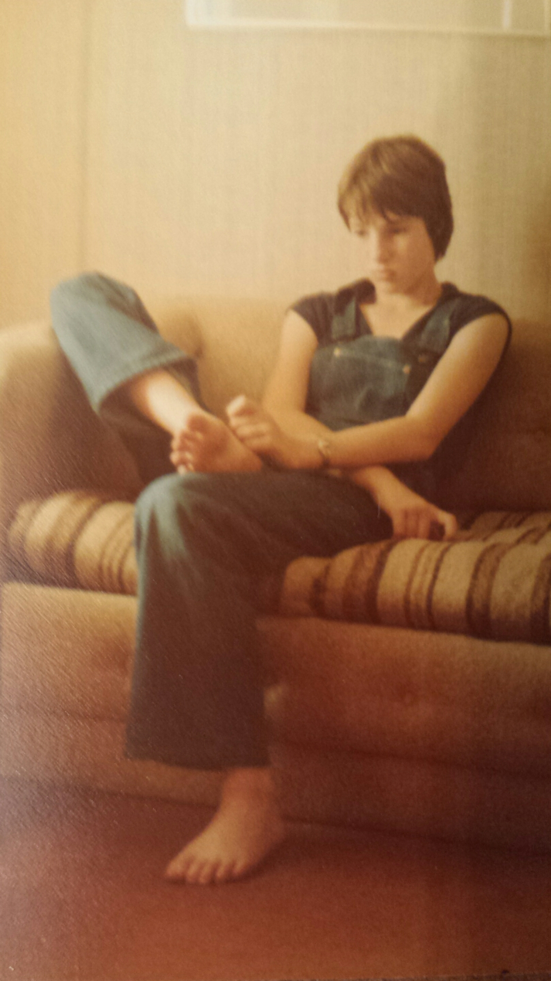 11 year old in hotel room circa 1978